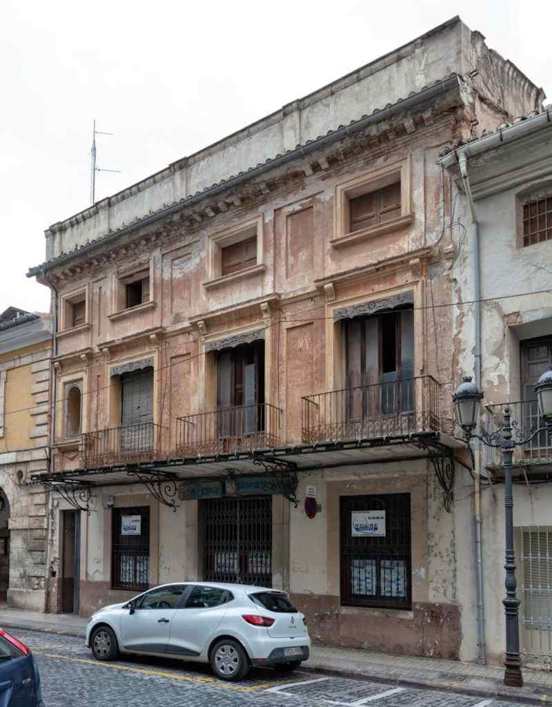 Arreglo de fachadas de edificios